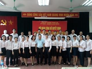 Hội nghị công bố nâng cấp Chi bộ cơ sở lên Đảng bộ cơ sở